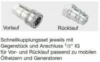 """Entnahmeleitung mit Schnellkupplungsset 1/2"""""""