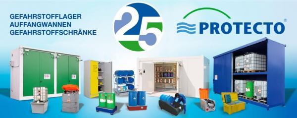 25_Jahre_sichere_Gefahrstofflagerung_Protecto