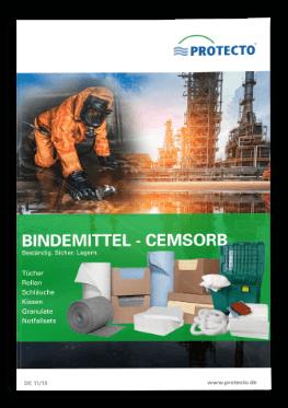 PROTECTO Bindemittel Cemsorb für Gewässerschutz